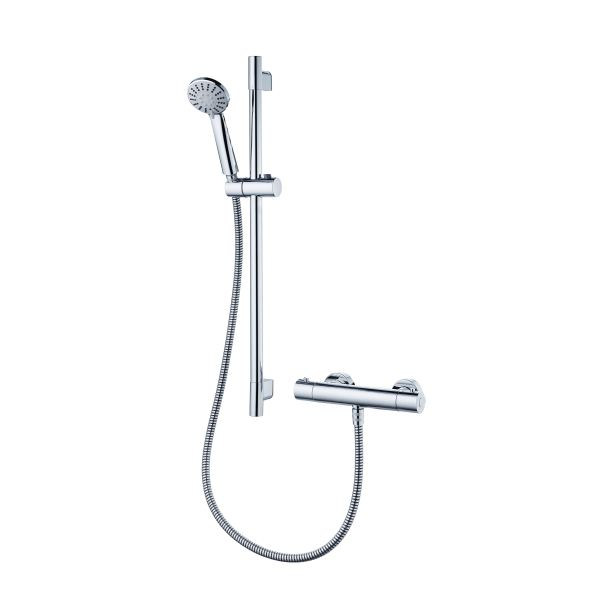 Ideal Standard | Ecotherm | A7255AA | Thermostatic Exposed Complete Shower