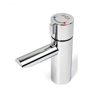Inta NC250CP Non Concussive  Thermostatic Basin Mounted Mixer Tap
