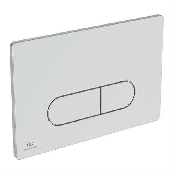 Ideal Standard OLEAS P1 R0116JG Matt Chrome Dual Flush Plate