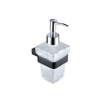 Synergy Stella SY-DXB46K Black Soap Dispenser and Holder